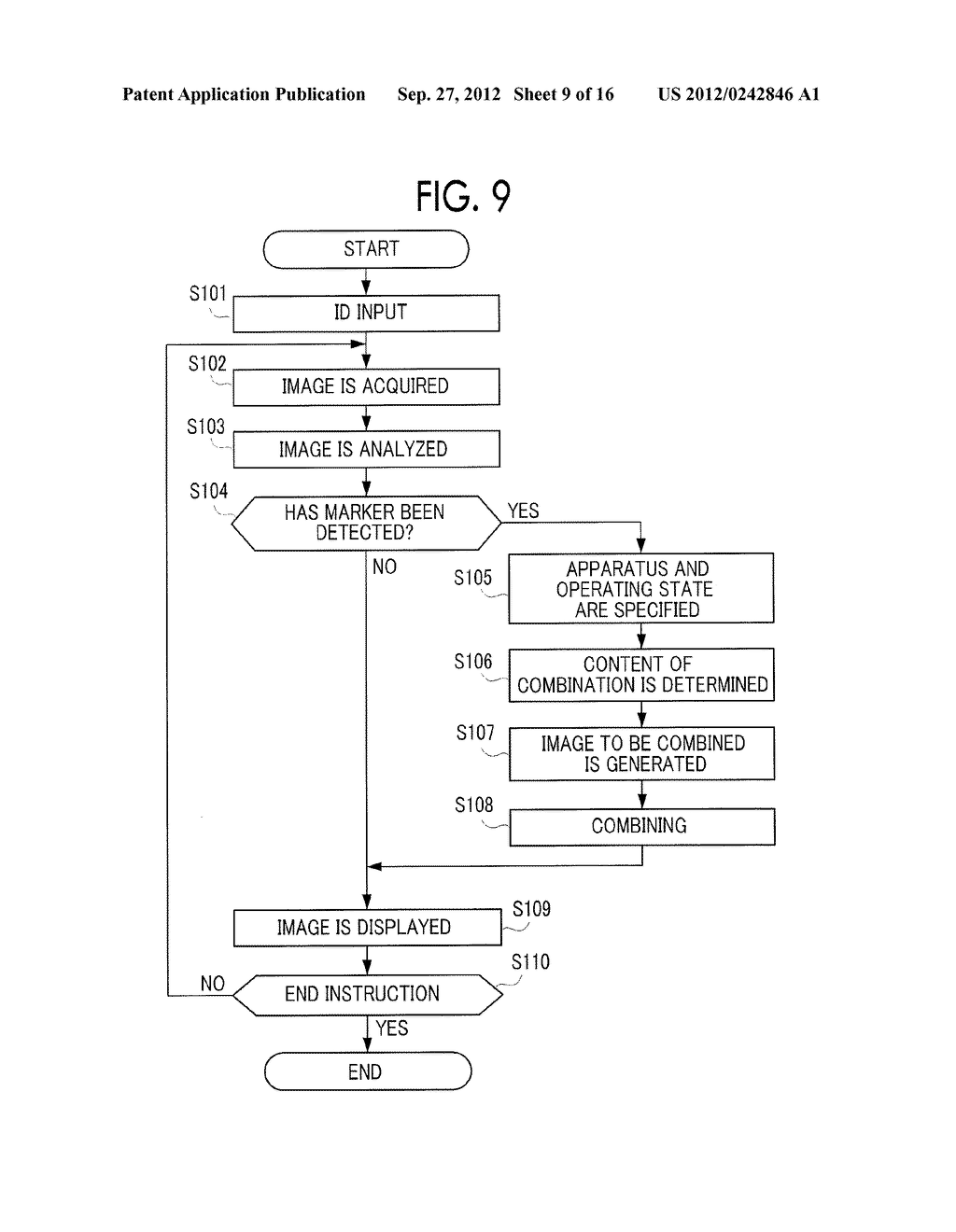 IMAGE DISPLAY DEVICE, MOBILE TERMINAL, NON-TRANSITORY COMPUTER READABLE     MEDIUM, AND IMAGE DISPLAY METHOD - diagram, schematic, and image 10