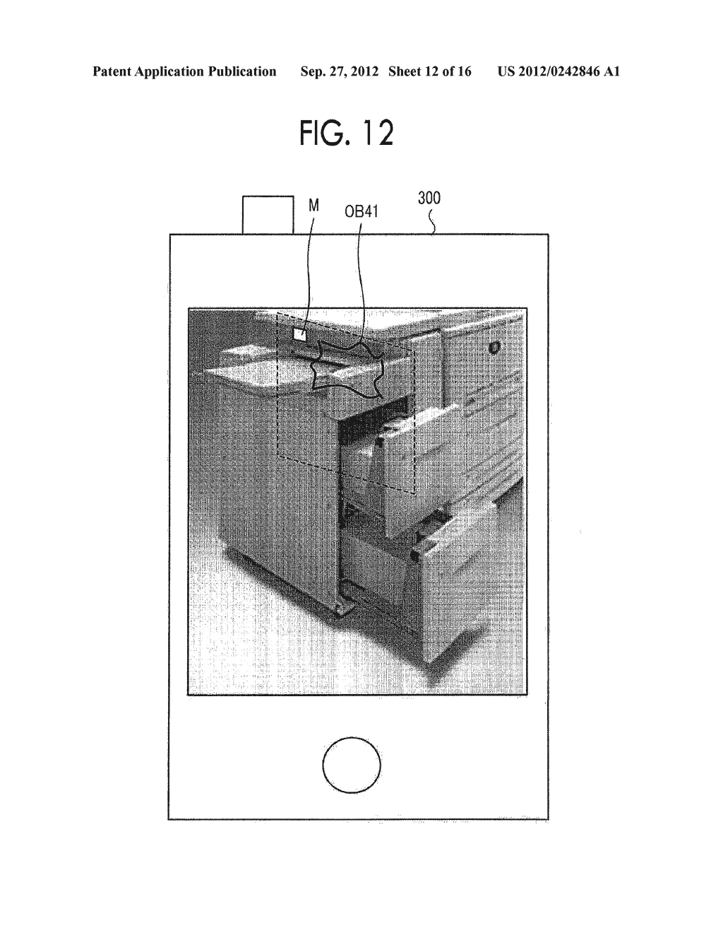 IMAGE DISPLAY DEVICE, MOBILE TERMINAL, NON-TRANSITORY COMPUTER READABLE     MEDIUM, AND IMAGE DISPLAY METHOD - diagram, schematic, and image 13
