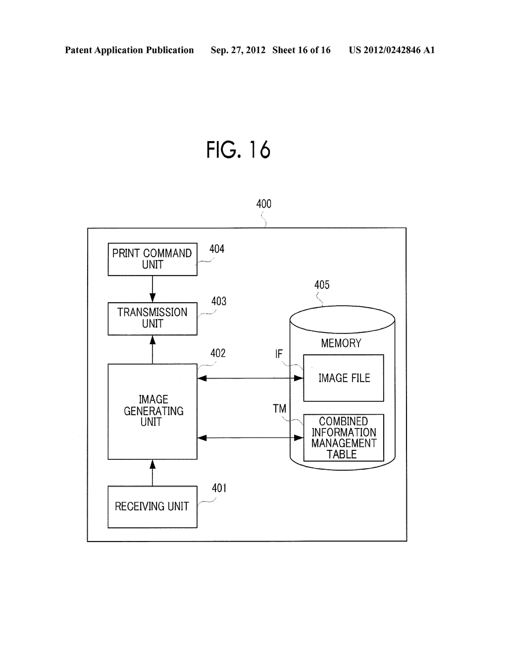 IMAGE DISPLAY DEVICE, MOBILE TERMINAL, NON-TRANSITORY COMPUTER READABLE     MEDIUM, AND IMAGE DISPLAY METHOD - diagram, schematic, and image 17