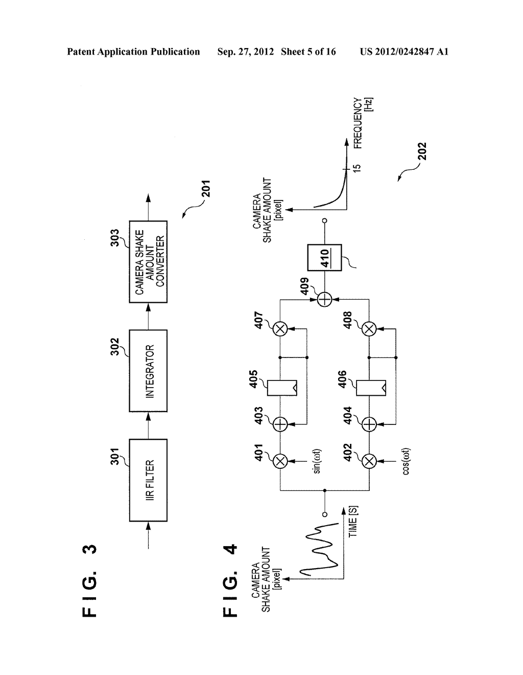 IMAGE SENSING APPARATUS FOR CORRECTING IMAGE DISTORTION CAUSED BY HAND     SHAKE, AND CONTROL METHOD THEREOF - diagram, schematic, and image 06