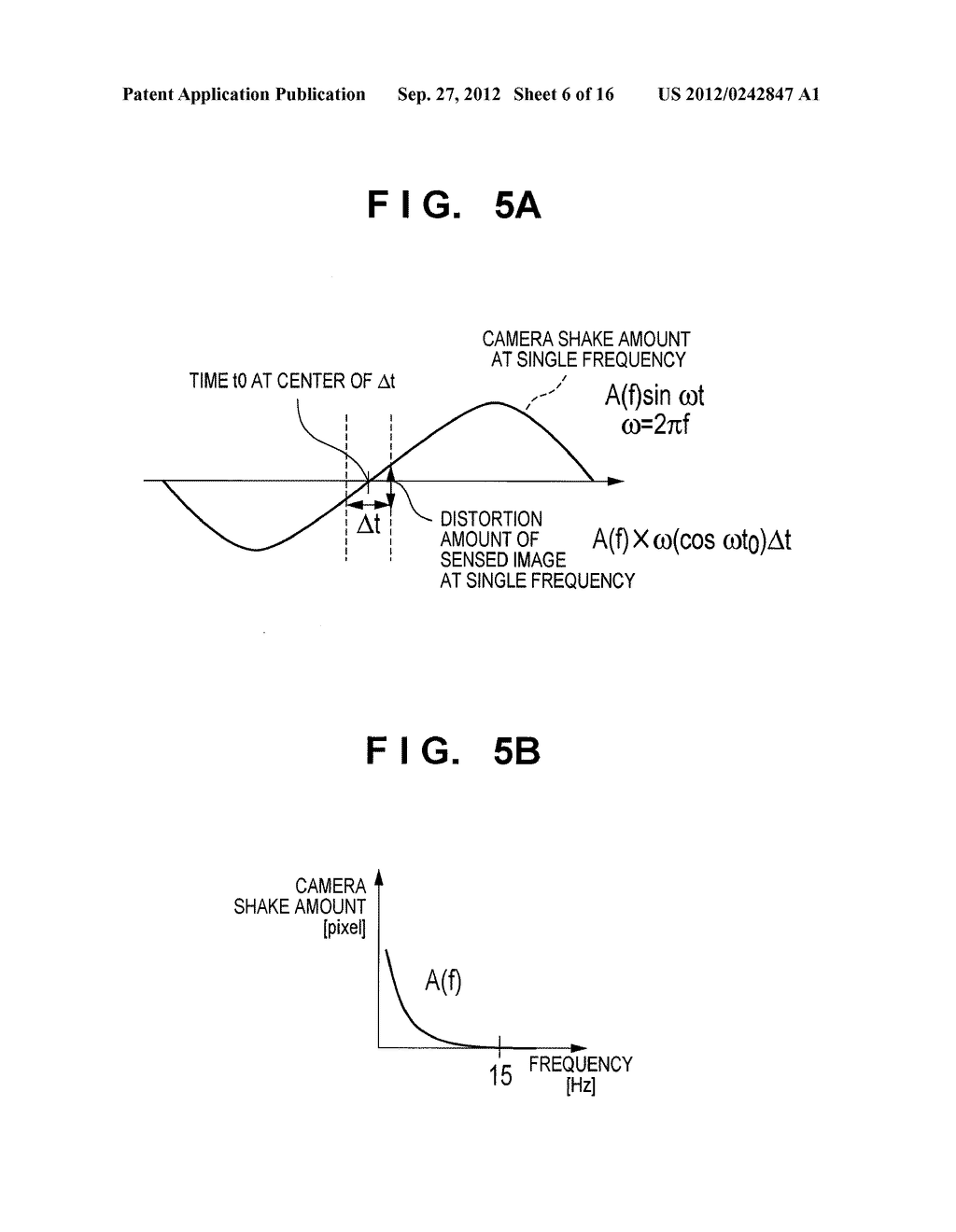IMAGE SENSING APPARATUS FOR CORRECTING IMAGE DISTORTION CAUSED BY HAND     SHAKE, AND CONTROL METHOD THEREOF - diagram, schematic, and image 07