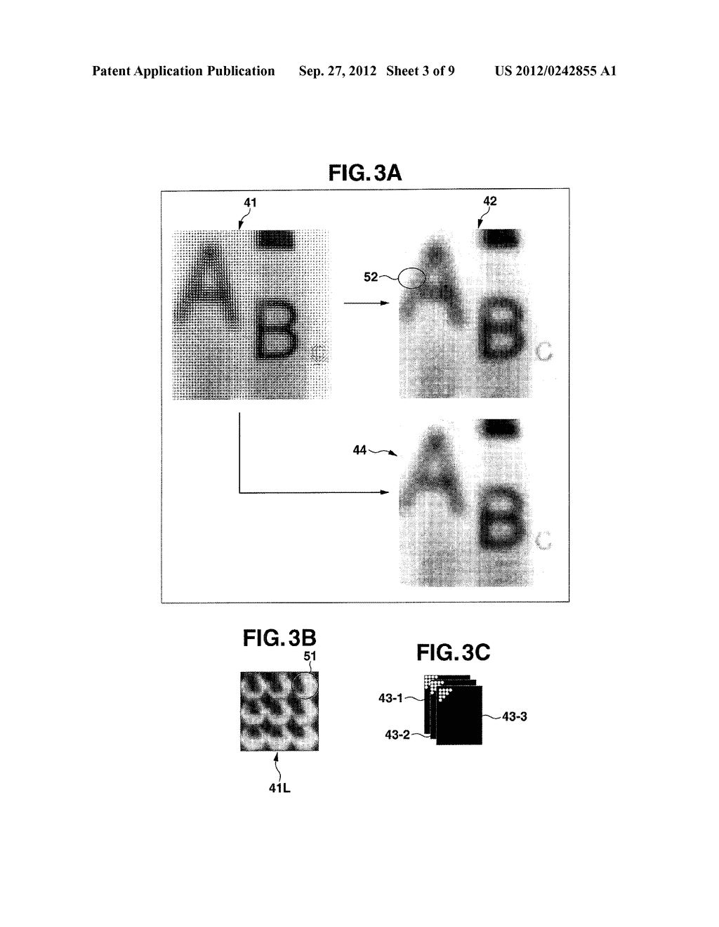 DEVICE AND METHOD INCLUDING FUNCTION FOR RECONSTITUTING AN IMAGE, AND     STORAGE MEDIUM - diagram, schematic, and image 04