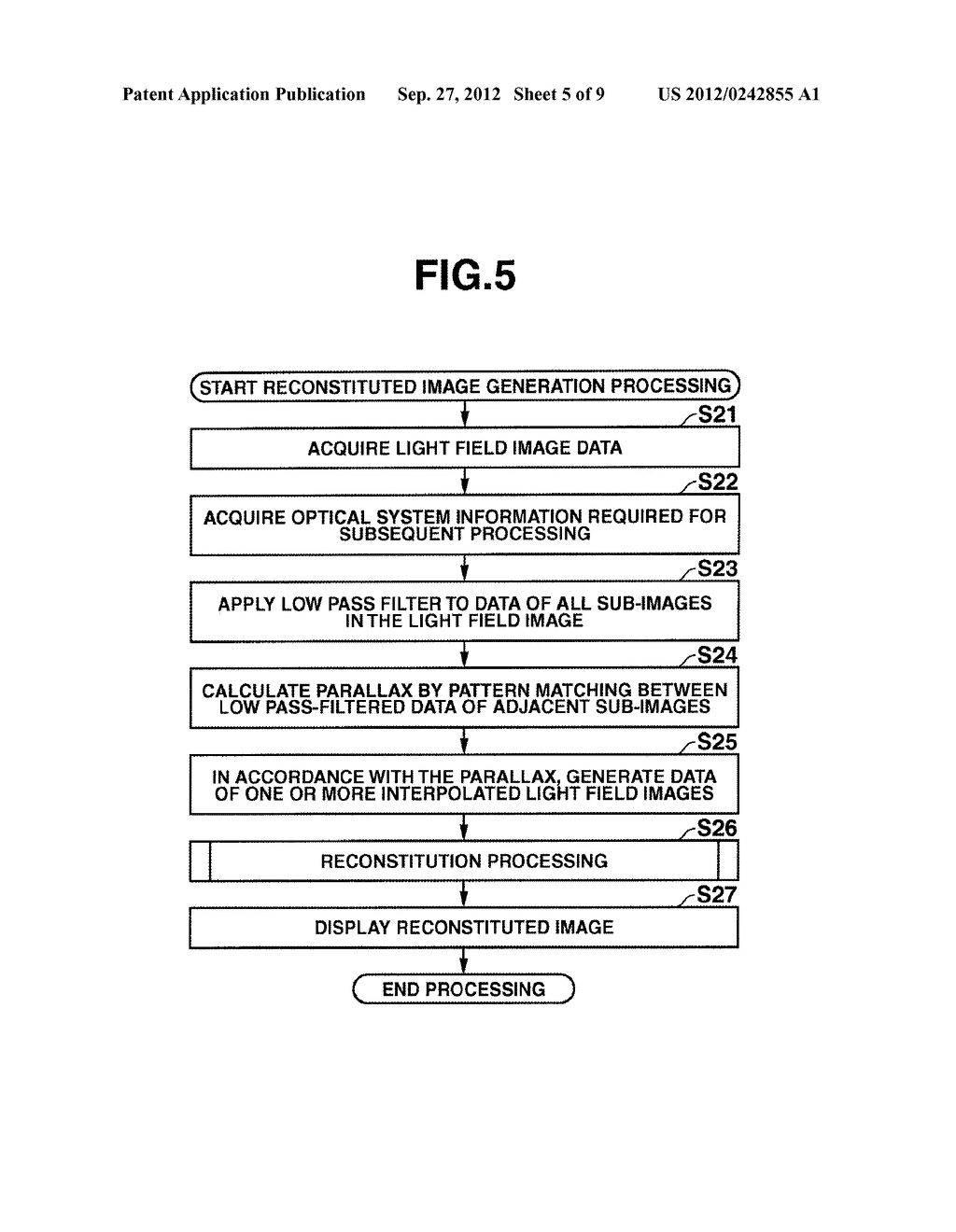 DEVICE AND METHOD INCLUDING FUNCTION FOR RECONSTITUTING AN IMAGE, AND     STORAGE MEDIUM - diagram, schematic, and image 06