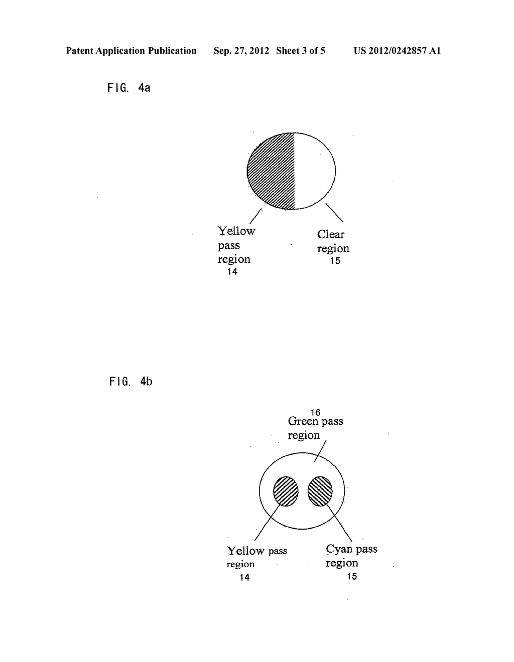 CAMERA INCLUDING IMAGING SYSTEM HAVING DIFFERENT DEPTHS OF FIELD FOR     DIFFERENT FREQUENCIES OF OPTICAL RADIATION - diagram, schematic, and image 04