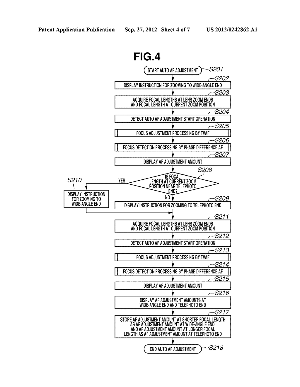 IMAGING APPARATUS, CONTROL METHOD FOR IMAGING APPARATUS, AND PROGRAM - diagram, schematic, and image 05
