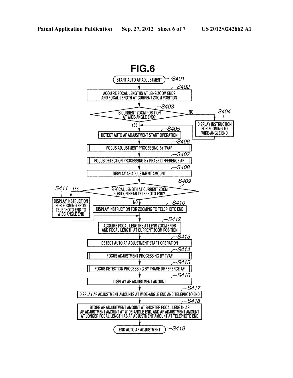 IMAGING APPARATUS, CONTROL METHOD FOR IMAGING APPARATUS, AND PROGRAM - diagram, schematic, and image 07