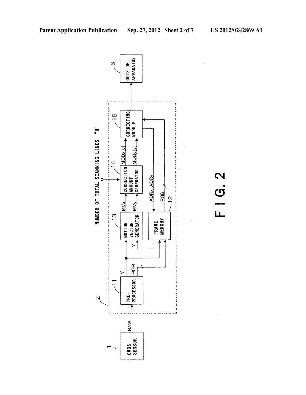 IMAGE PROCESSING DEVICE, IMAGE PROCESSING SYSTEM AND IMAGE PROCESSING     METHOD - diagram, schematic, and image 03