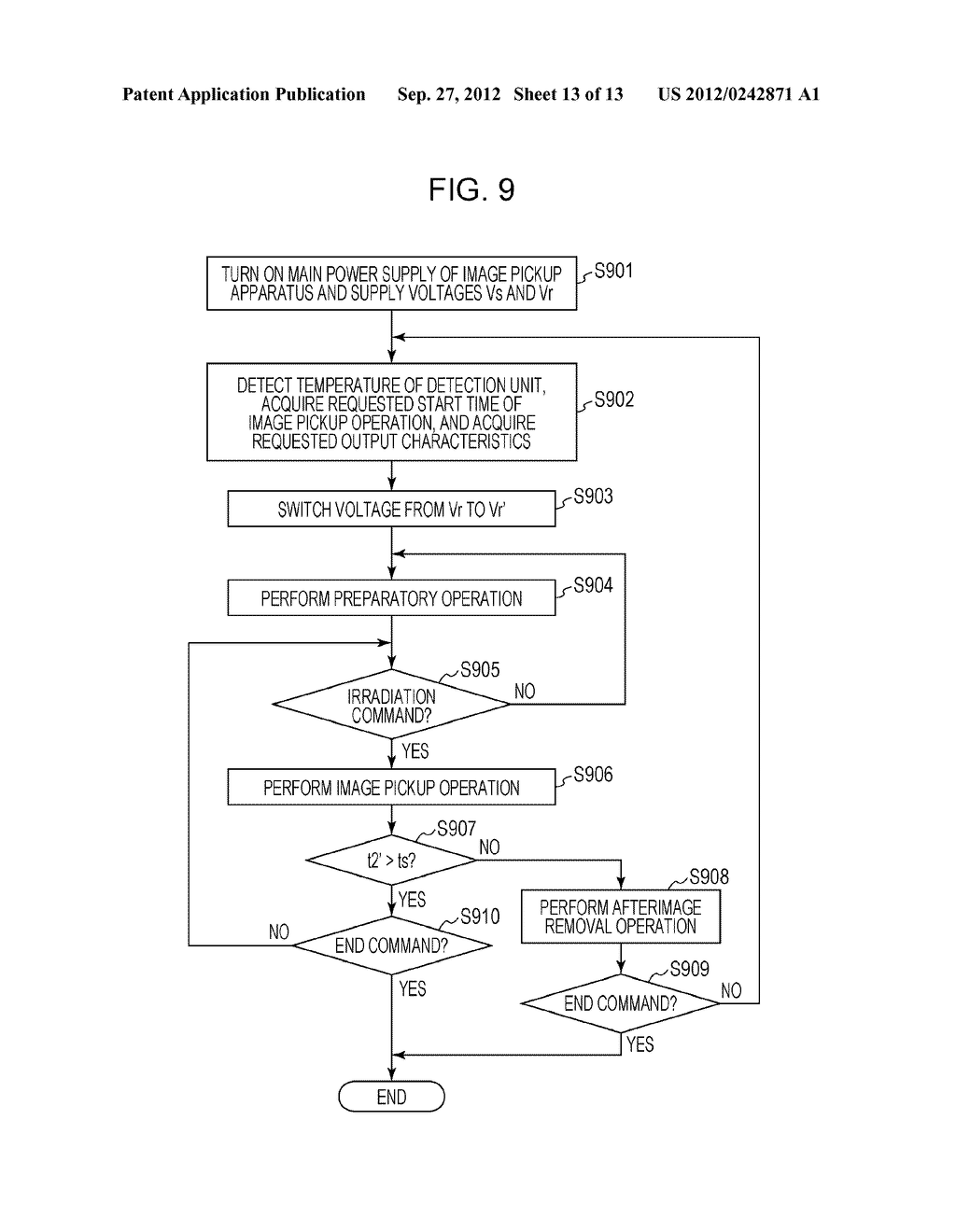 IMAGE PICKUP APPARATUS, IMAGE PICKUP SYSTEM, AND METHOD OF CONTROLLING     THEM - diagram, schematic, and image 14