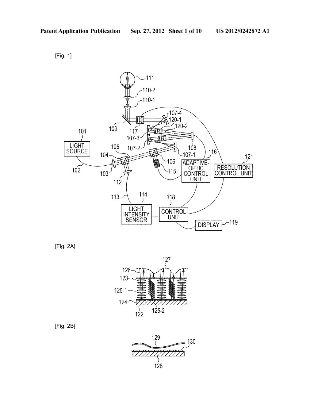 OPTICAL-IMAGE PICKUP APPARATUS AND METHOD FOR CONTROLLING THE SAME - diagram, schematic, and image 02