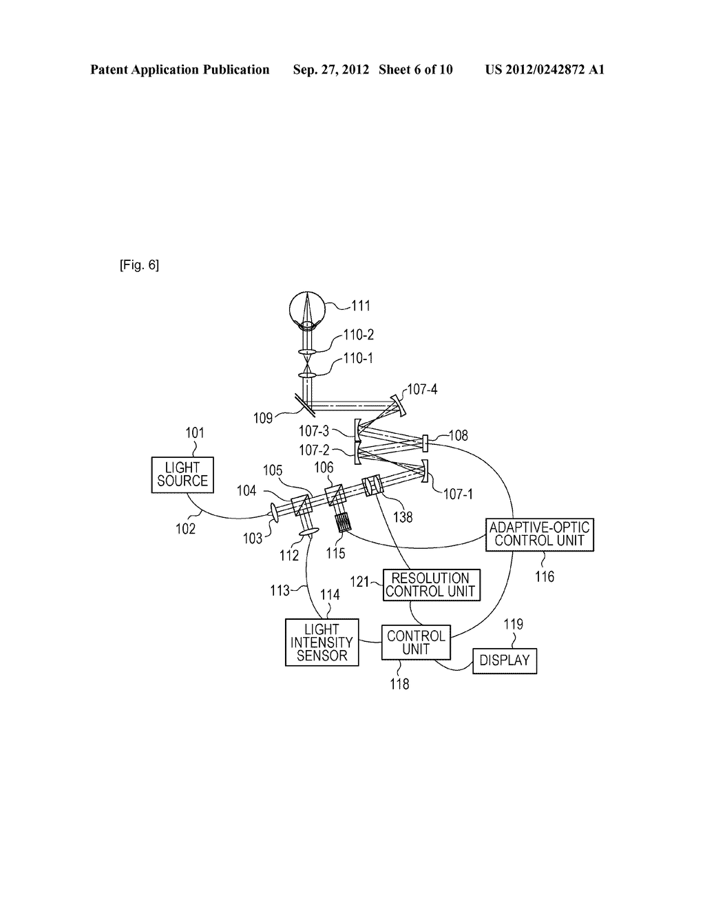 OPTICAL-IMAGE PICKUP APPARATUS AND METHOD FOR CONTROLLING THE SAME - diagram, schematic, and image 07