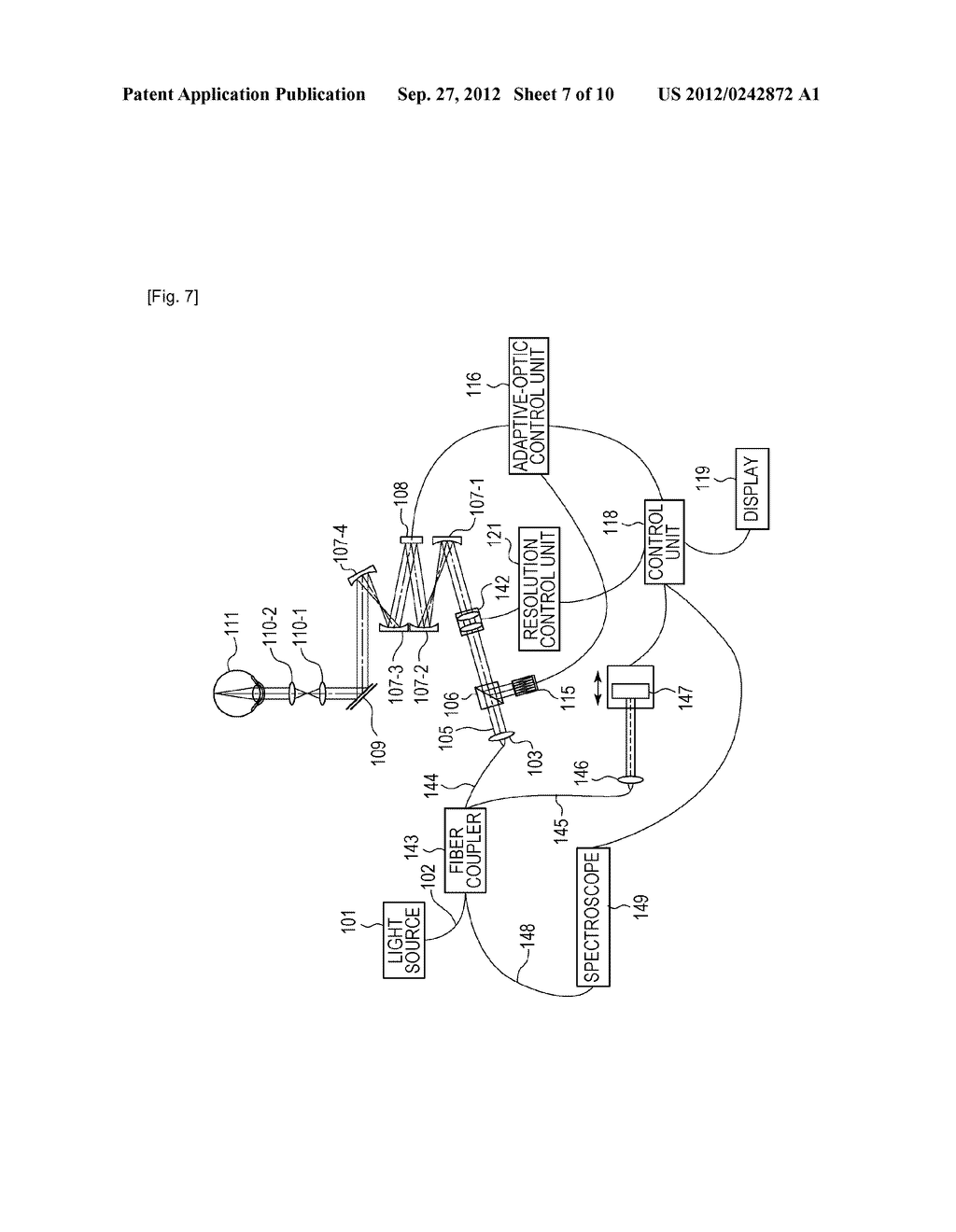 OPTICAL-IMAGE PICKUP APPARATUS AND METHOD FOR CONTROLLING THE SAME - diagram, schematic, and image 08