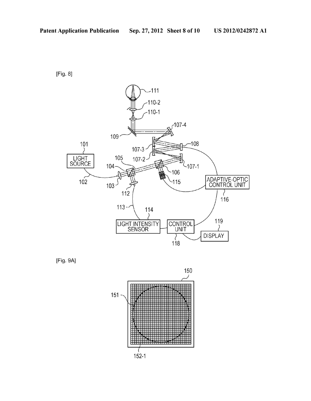 OPTICAL-IMAGE PICKUP APPARATUS AND METHOD FOR CONTROLLING THE SAME - diagram, schematic, and image 09
