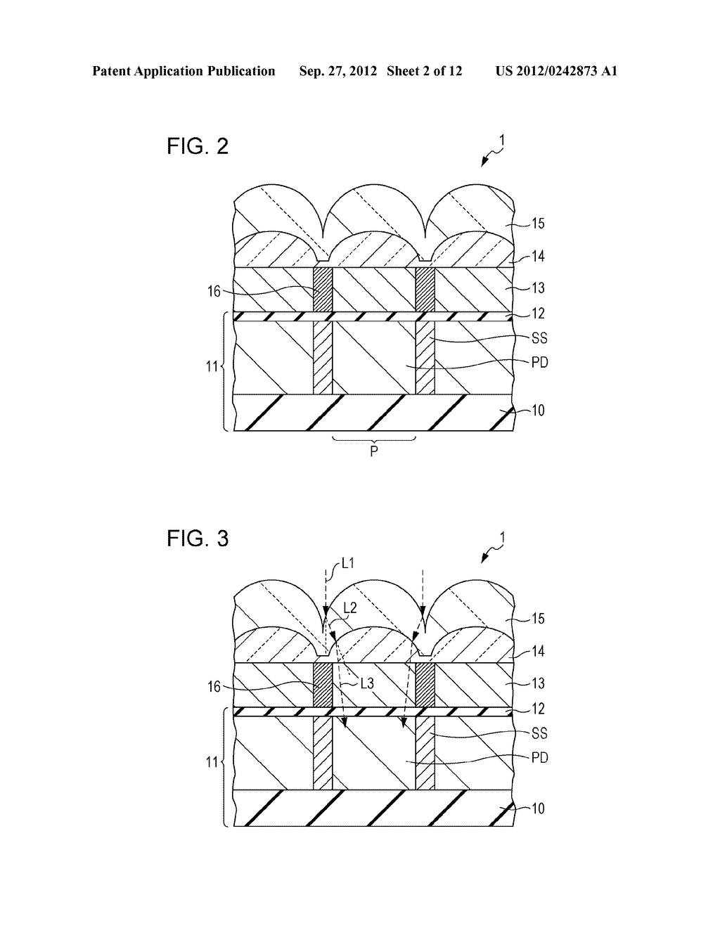 SOLID-STATE IMAGING DEVICE, METHOD OF MANUFACTURING SOLID-STATE IMAGING     DEVICE, AND ELECTRONIC APPARATUS - diagram, schematic, and image 03