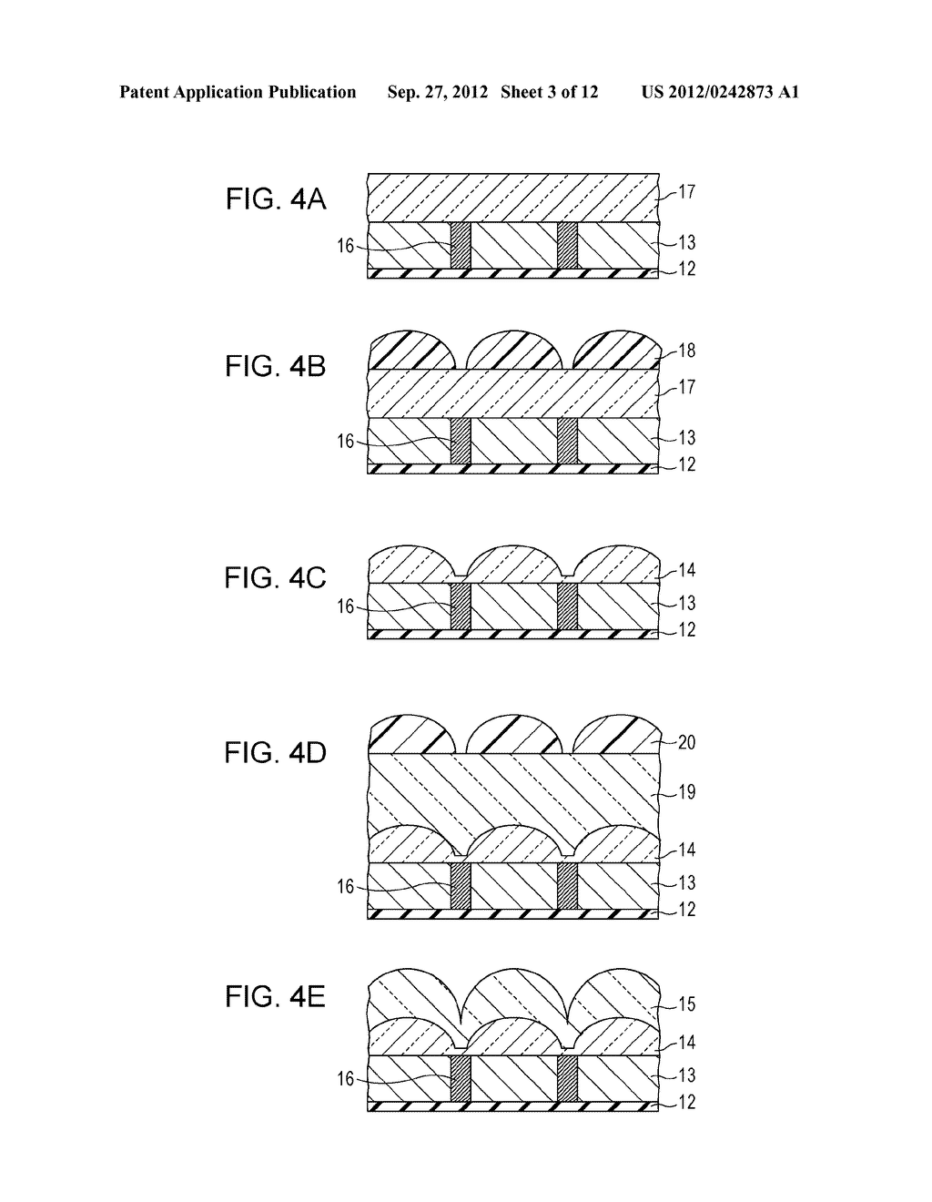 SOLID-STATE IMAGING DEVICE, METHOD OF MANUFACTURING SOLID-STATE IMAGING     DEVICE, AND ELECTRONIC APPARATUS - diagram, schematic, and image 04