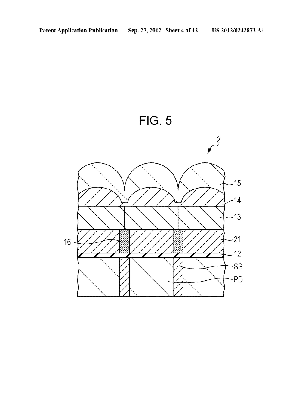 SOLID-STATE IMAGING DEVICE, METHOD OF MANUFACTURING SOLID-STATE IMAGING     DEVICE, AND ELECTRONIC APPARATUS - diagram, schematic, and image 05