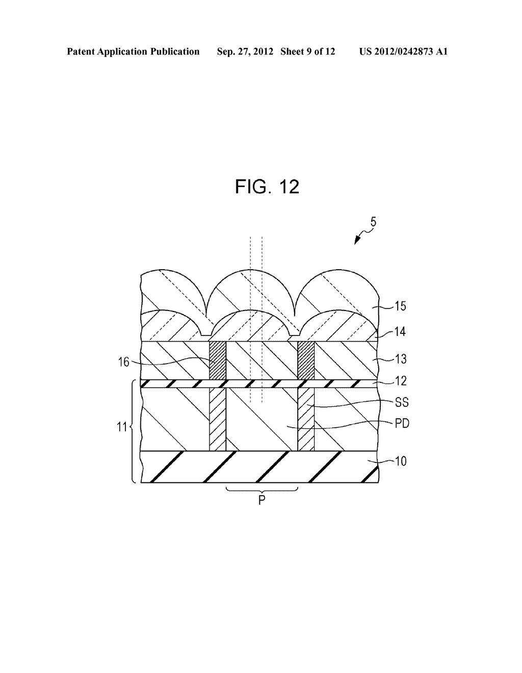 SOLID-STATE IMAGING DEVICE, METHOD OF MANUFACTURING SOLID-STATE IMAGING     DEVICE, AND ELECTRONIC APPARATUS - diagram, schematic, and image 10