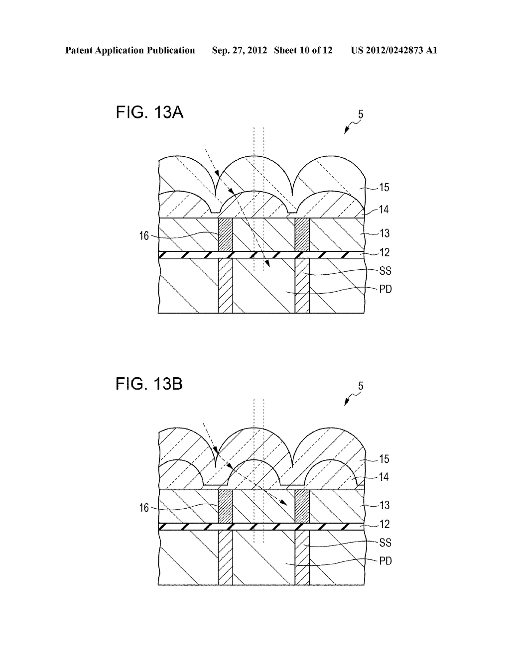 SOLID-STATE IMAGING DEVICE, METHOD OF MANUFACTURING SOLID-STATE IMAGING     DEVICE, AND ELECTRONIC APPARATUS - diagram, schematic, and image 11
