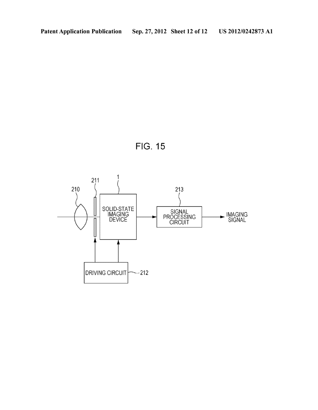 SOLID-STATE IMAGING DEVICE, METHOD OF MANUFACTURING SOLID-STATE IMAGING     DEVICE, AND ELECTRONIC APPARATUS - diagram, schematic, and image 13
