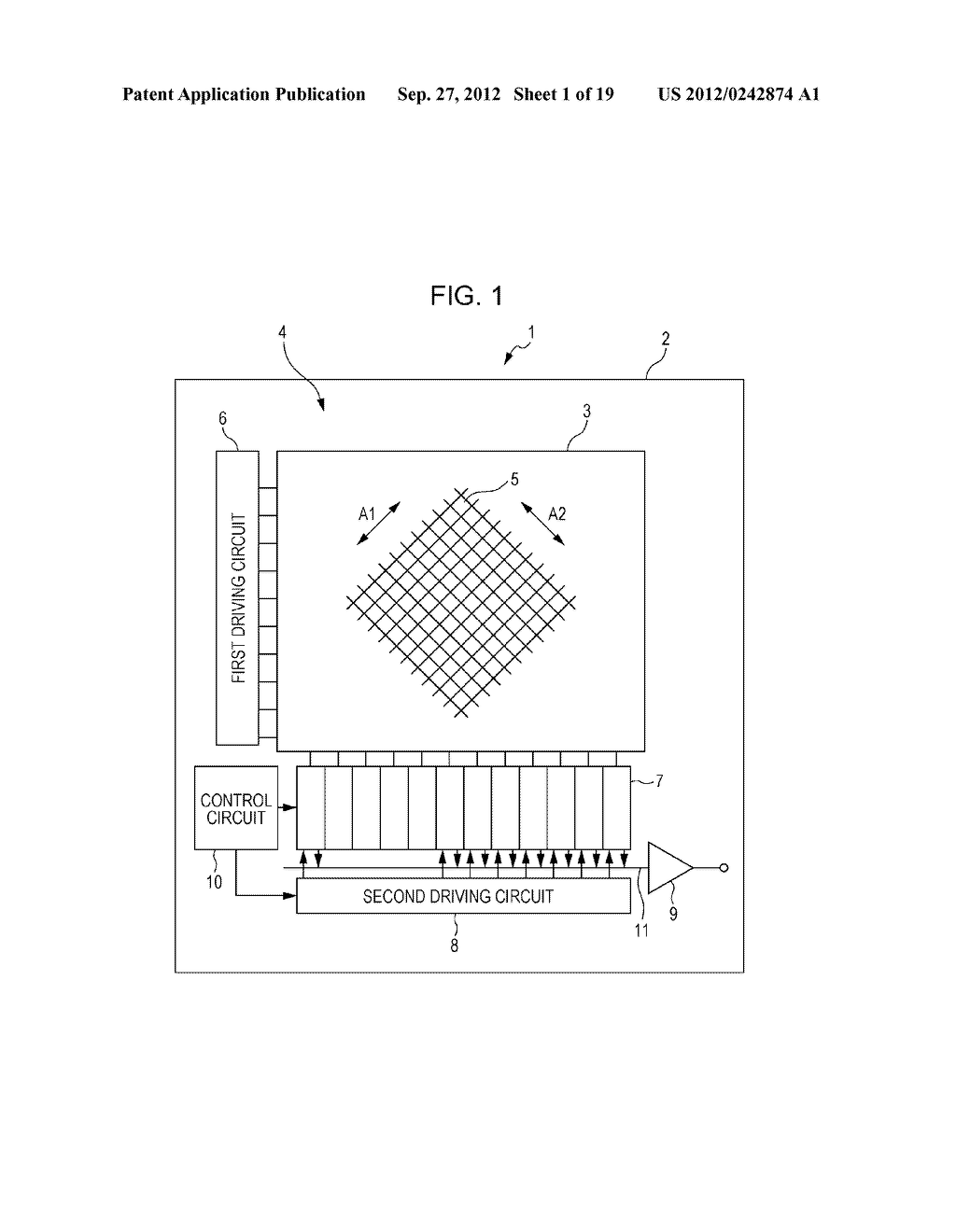 SOLID-STATE IMAGING DEVICE AND ELECTRONIC APPARATUS - diagram, schematic, and image 02