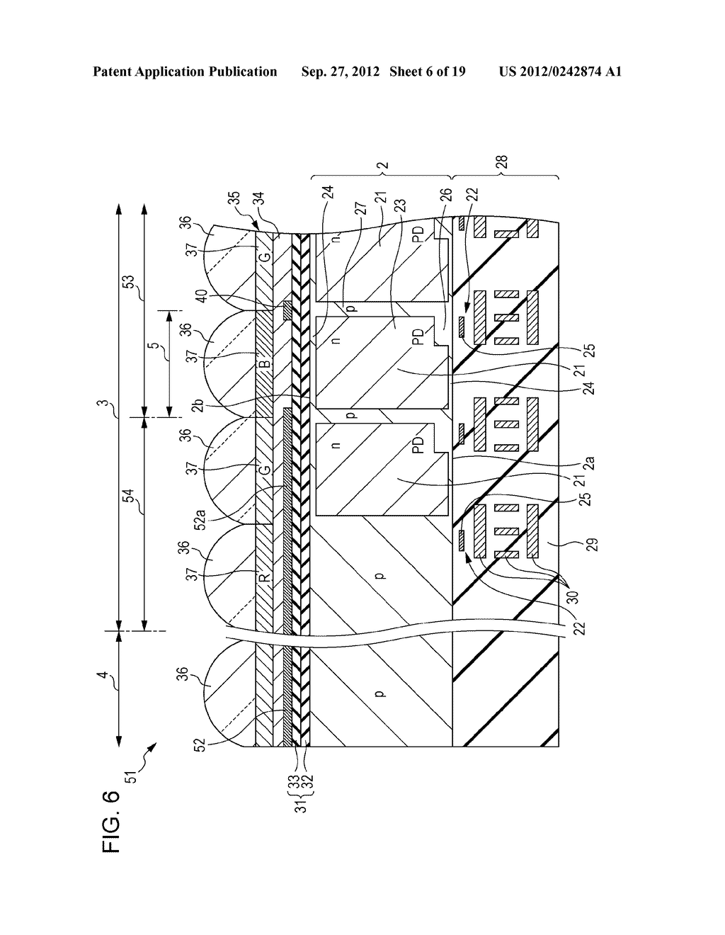 SOLID-STATE IMAGING DEVICE AND ELECTRONIC APPARATUS - diagram, schematic, and image 07