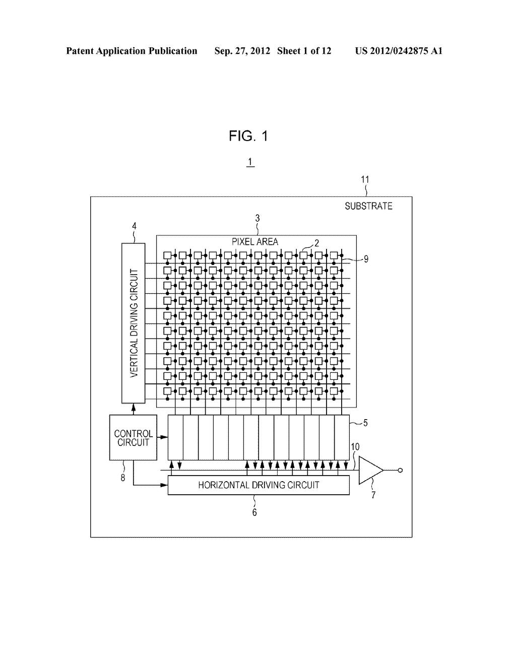 SOLID STATE IMAGING DEVICE, METHOD OF PRODUCING SOLID STATE IMAGING     DEVICE, AND ELECTRONIC APPARATUS - diagram, schematic, and image 02