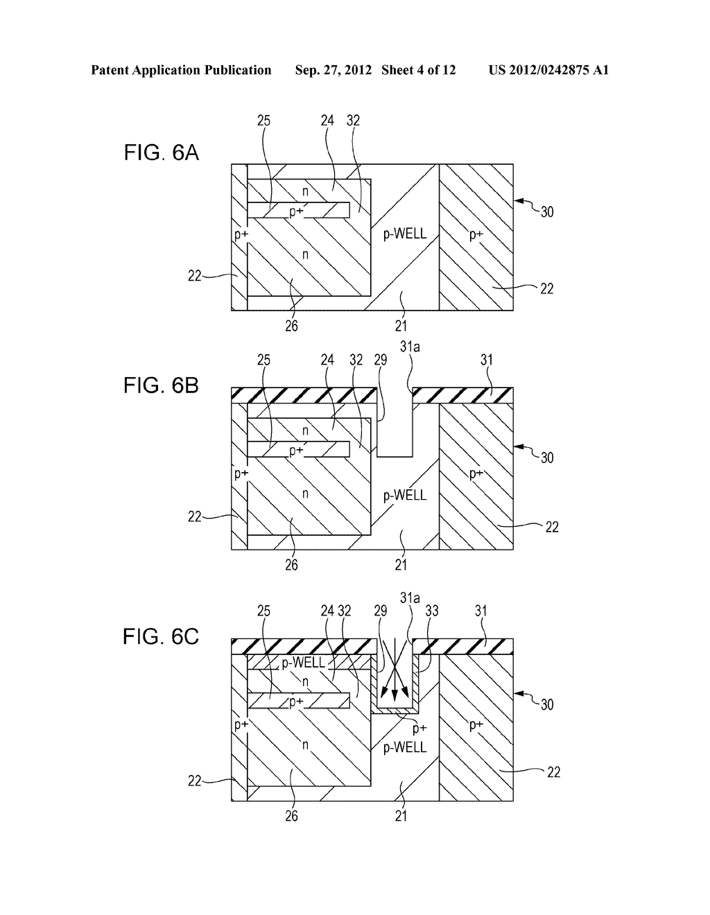 SOLID STATE IMAGING DEVICE, METHOD OF PRODUCING SOLID STATE IMAGING     DEVICE, AND ELECTRONIC APPARATUS - diagram, schematic, and image 05