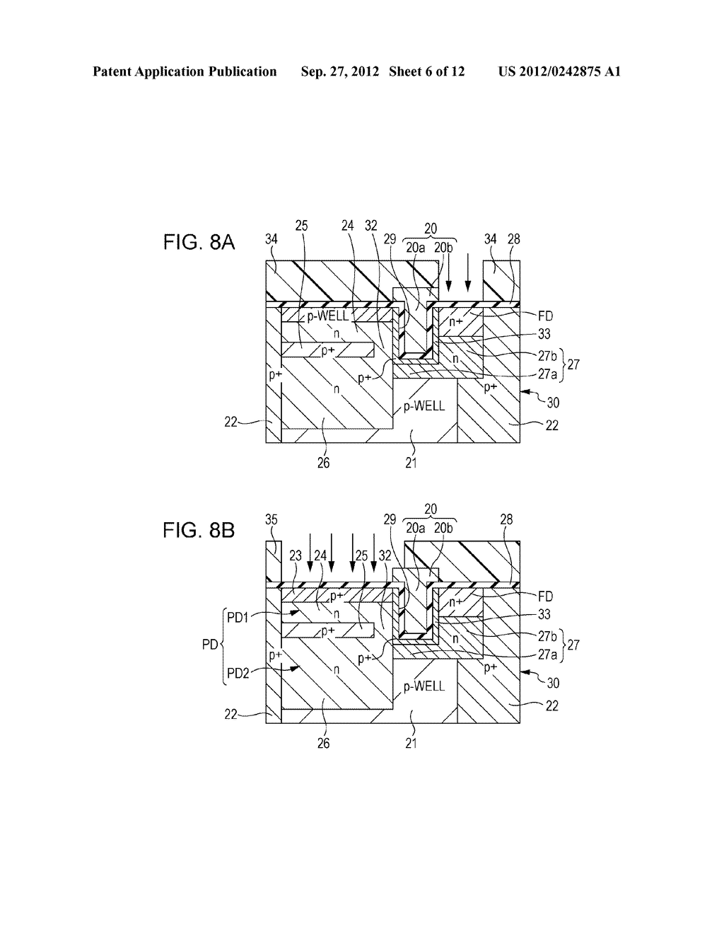 SOLID STATE IMAGING DEVICE, METHOD OF PRODUCING SOLID STATE IMAGING     DEVICE, AND ELECTRONIC APPARATUS - diagram, schematic, and image 07