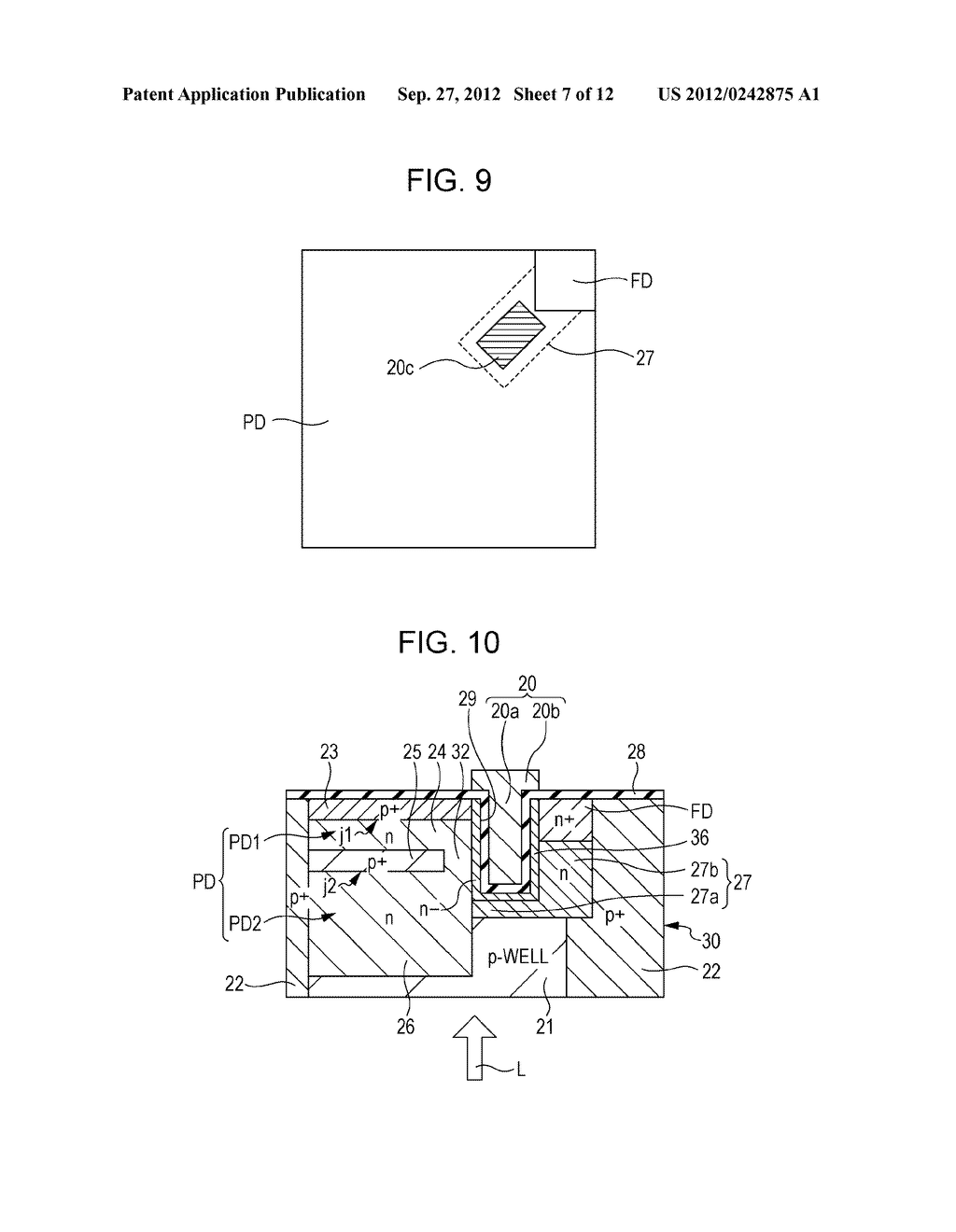 SOLID STATE IMAGING DEVICE, METHOD OF PRODUCING SOLID STATE IMAGING     DEVICE, AND ELECTRONIC APPARATUS - diagram, schematic, and image 08