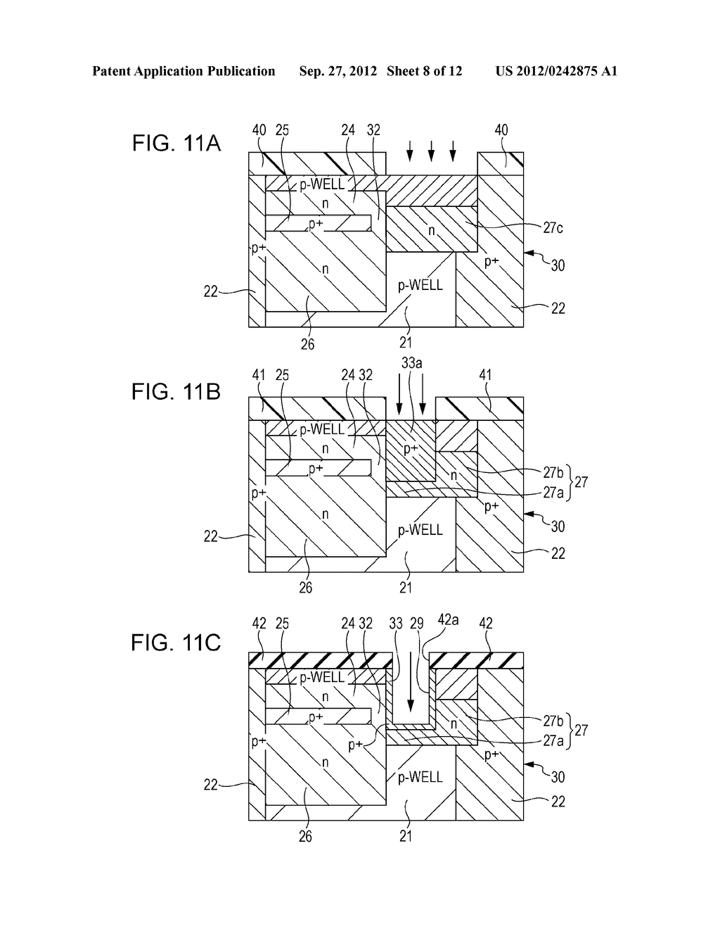 SOLID STATE IMAGING DEVICE, METHOD OF PRODUCING SOLID STATE IMAGING     DEVICE, AND ELECTRONIC APPARATUS - diagram, schematic, and image 09