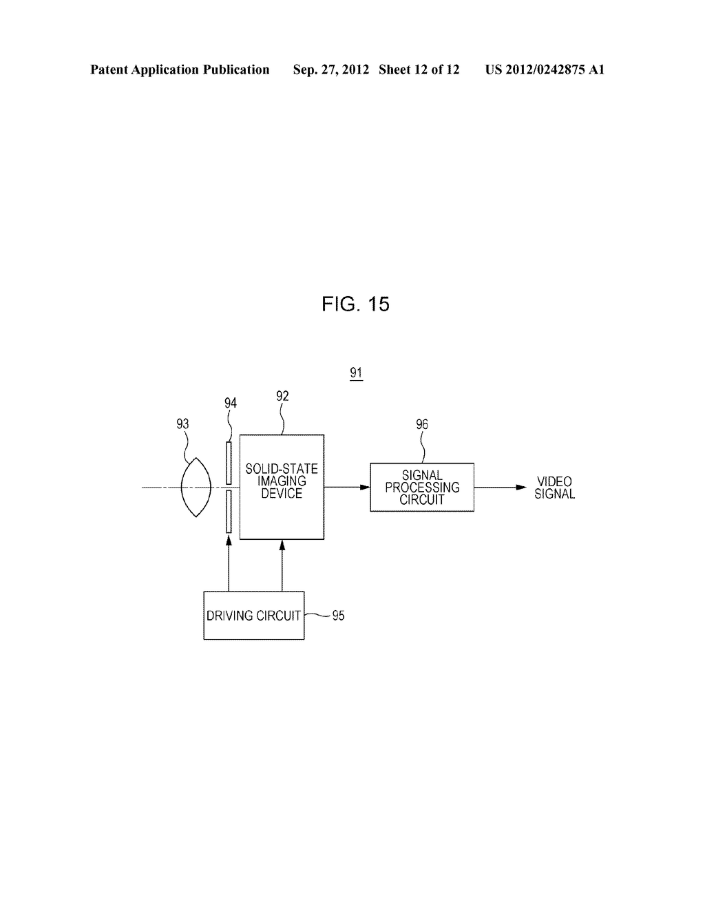 SOLID STATE IMAGING DEVICE, METHOD OF PRODUCING SOLID STATE IMAGING     DEVICE, AND ELECTRONIC APPARATUS - diagram, schematic, and image 13