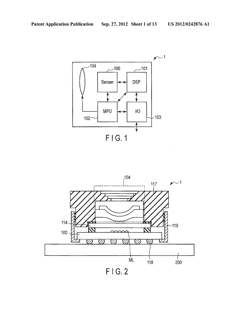 SOLID-STATE IMAGE SENSING DEVICE, CAMERA MODULE, AND SOLID-STATE IMAGE     SENSING DEVICE MANUFACTURING METHOD - diagram, schematic, and image 02