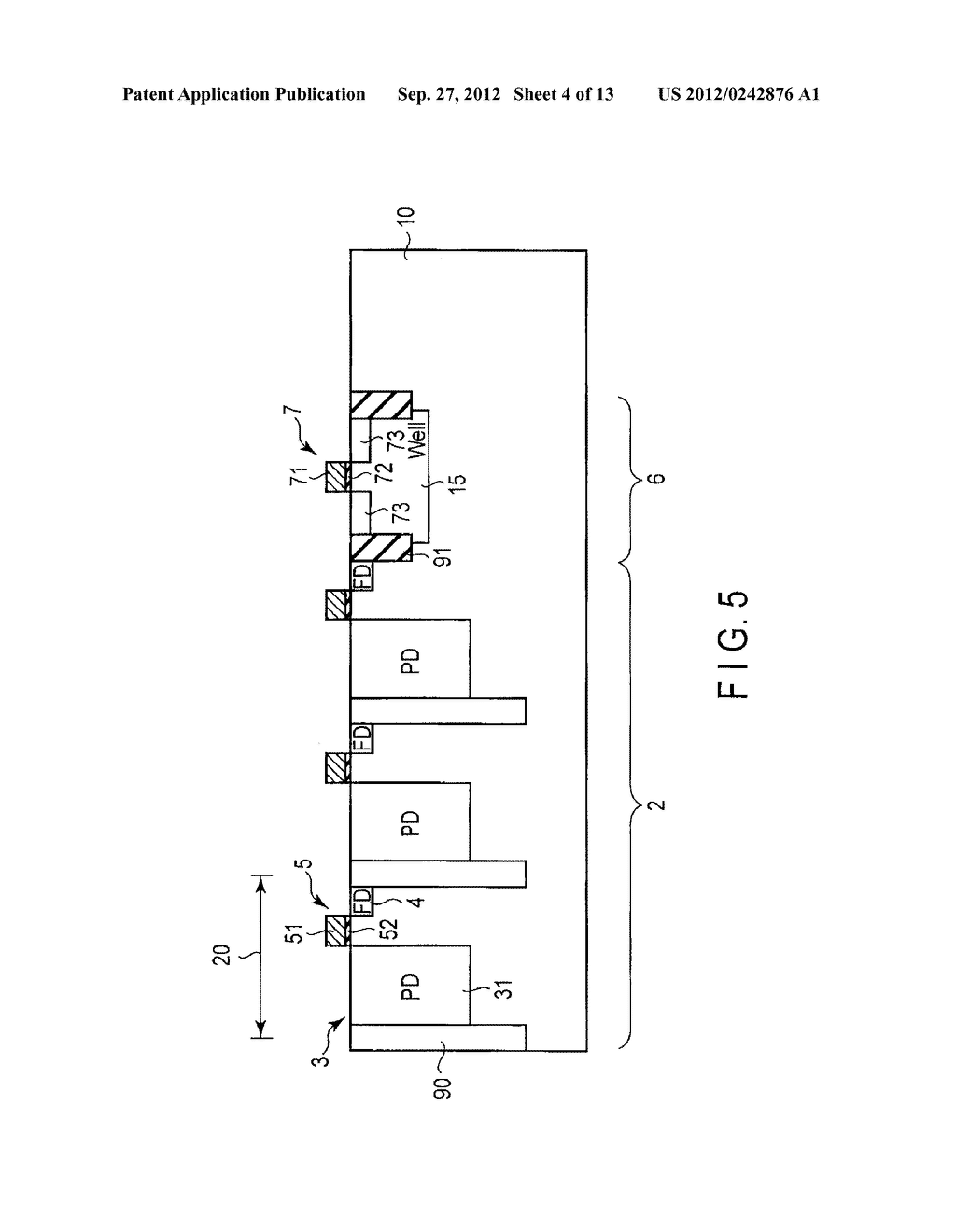 SOLID-STATE IMAGE SENSING DEVICE, CAMERA MODULE, AND SOLID-STATE IMAGE     SENSING DEVICE MANUFACTURING METHOD - diagram, schematic, and image 05