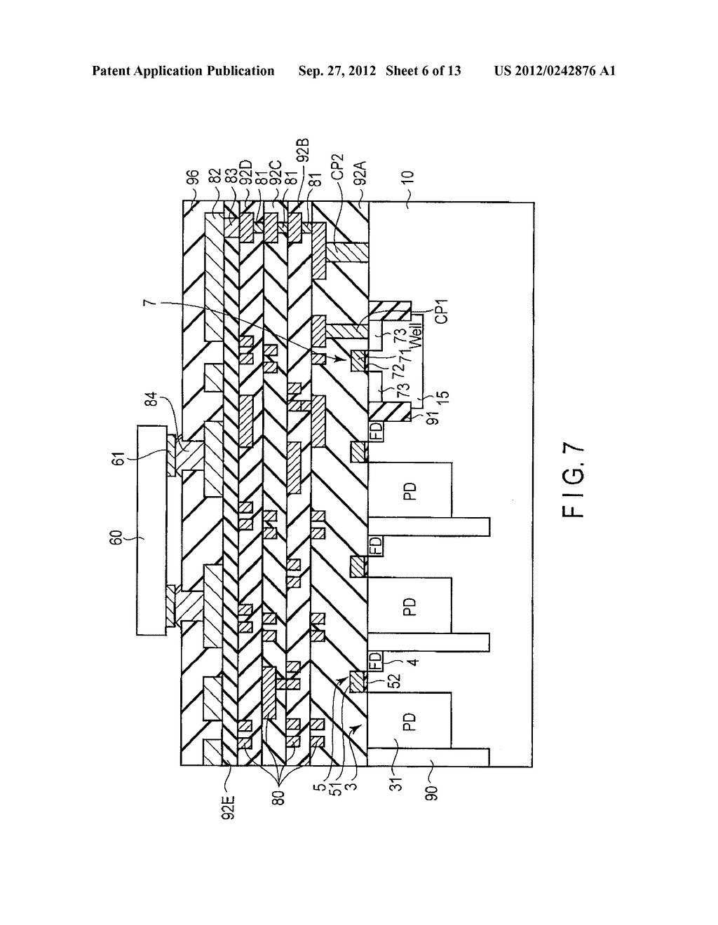 SOLID-STATE IMAGE SENSING DEVICE, CAMERA MODULE, AND SOLID-STATE IMAGE     SENSING DEVICE MANUFACTURING METHOD - diagram, schematic, and image 07