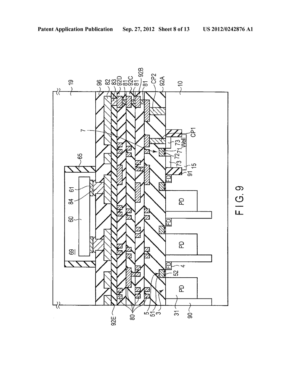 SOLID-STATE IMAGE SENSING DEVICE, CAMERA MODULE, AND SOLID-STATE IMAGE     SENSING DEVICE MANUFACTURING METHOD - diagram, schematic, and image 09
