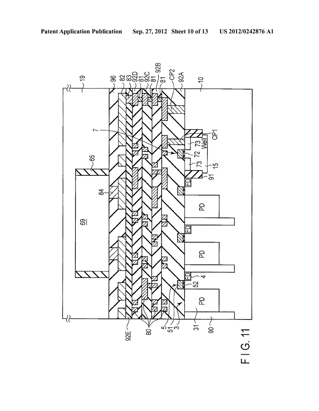 SOLID-STATE IMAGE SENSING DEVICE, CAMERA MODULE, AND SOLID-STATE IMAGE     SENSING DEVICE MANUFACTURING METHOD - diagram, schematic, and image 11