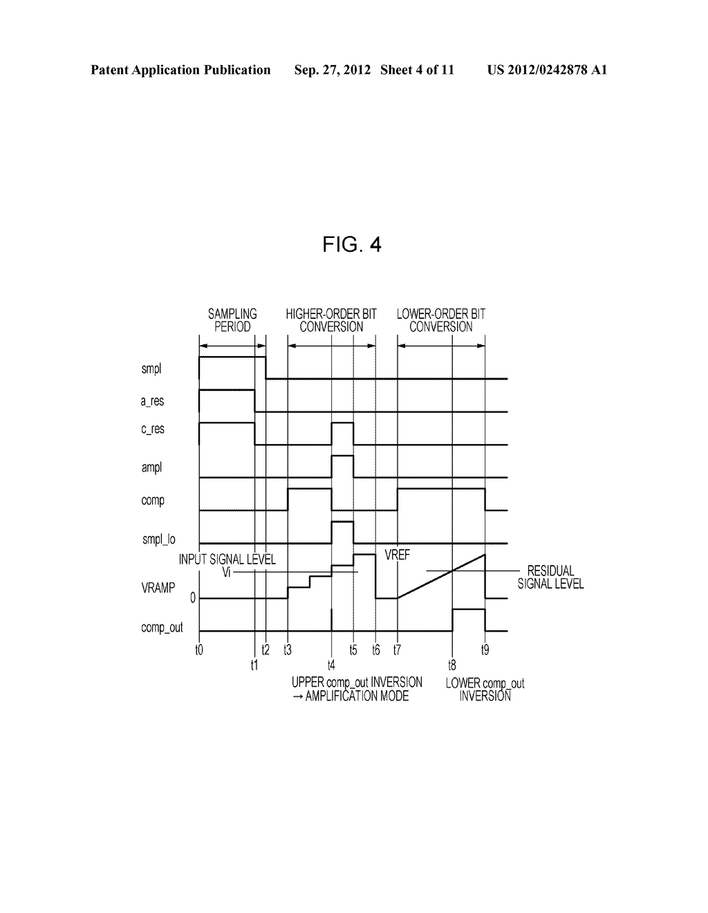 AD CONVERTING CIRCUIT, PHOTOELECTRIC CONVERTING APPARATUS, IMAGE PICKUP     SYSTEM, AND DRIVING METHOD FOR AD CONVERTING CIRCUIT - diagram, schematic, and image 05