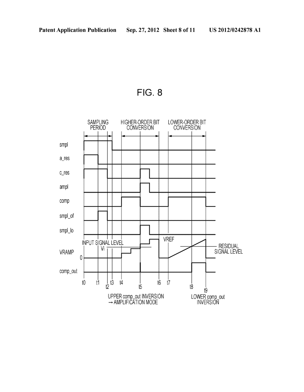 AD CONVERTING CIRCUIT, PHOTOELECTRIC CONVERTING APPARATUS, IMAGE PICKUP     SYSTEM, AND DRIVING METHOD FOR AD CONVERTING CIRCUIT - diagram, schematic, and image 09