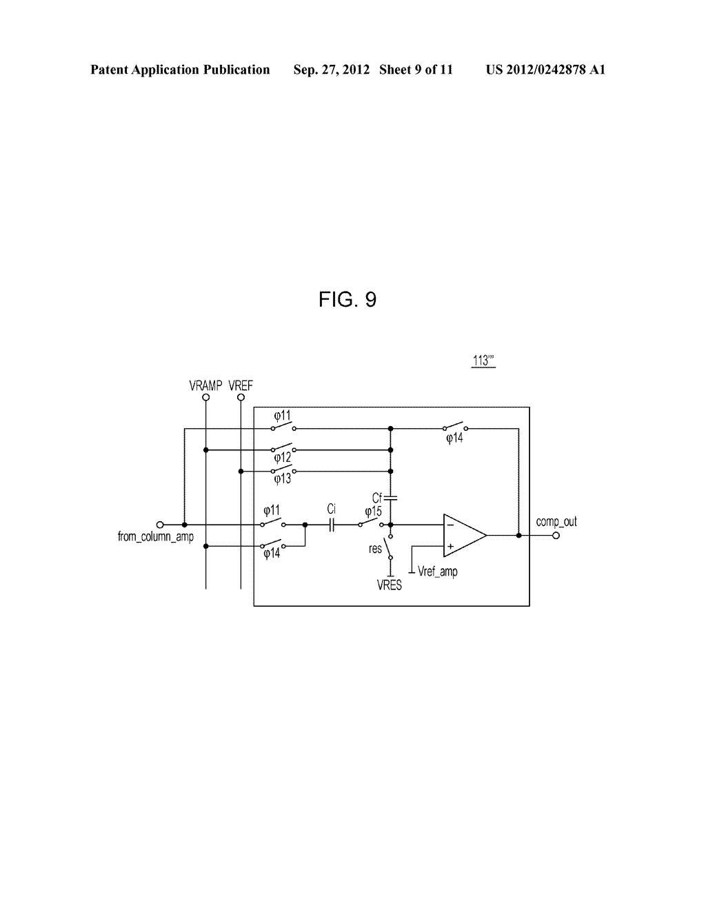 AD CONVERTING CIRCUIT, PHOTOELECTRIC CONVERTING APPARATUS, IMAGE PICKUP     SYSTEM, AND DRIVING METHOD FOR AD CONVERTING CIRCUIT - diagram, schematic, and image 10