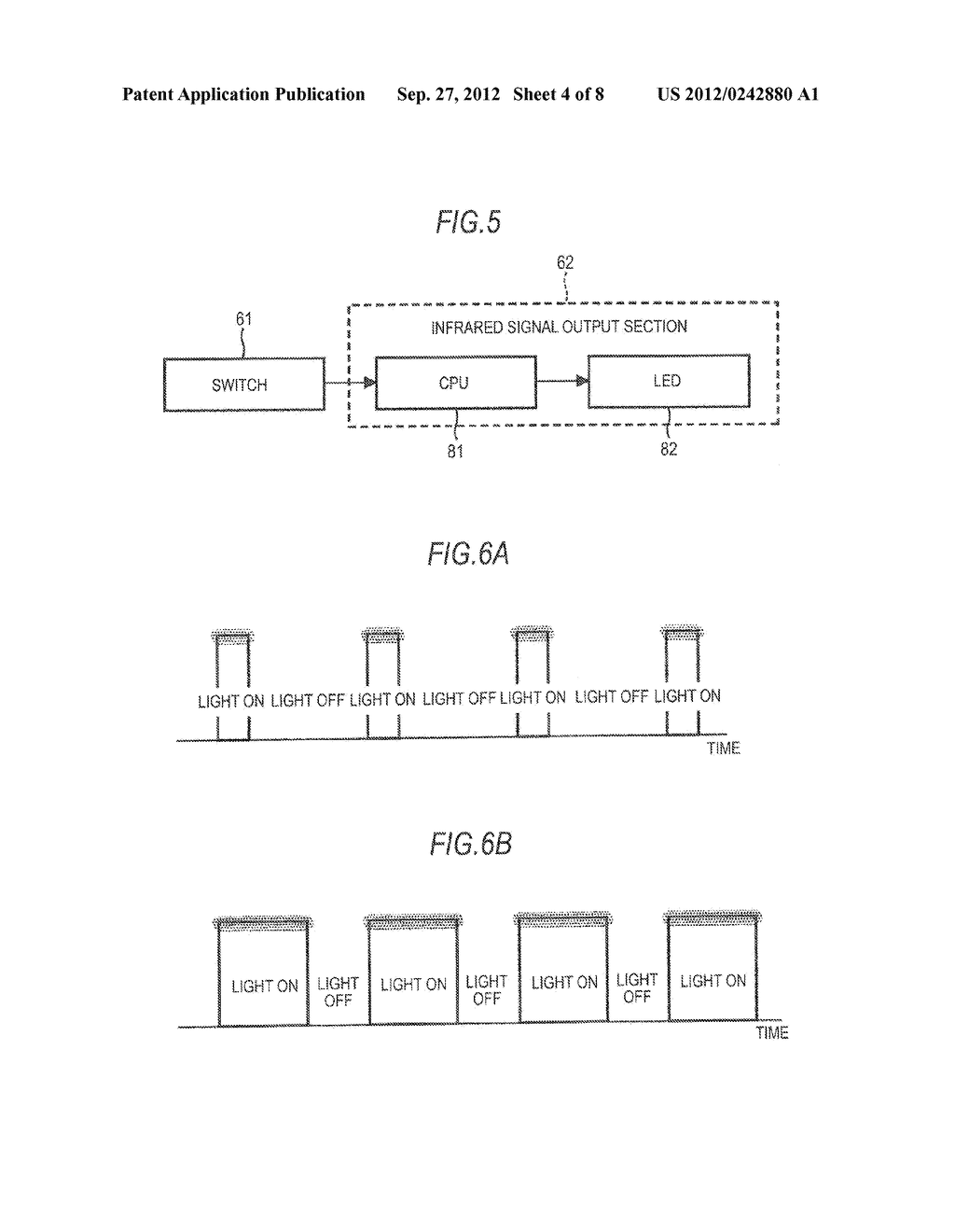 OPTICAL SIGNAL OUTPUT APPARATUS, SIGNAL PROCESSING APPARATUS, SIGNAL     PROCESSING METHOD, IMAGING APPARATUS, AND PROJECTOR - diagram, schematic, and image 05