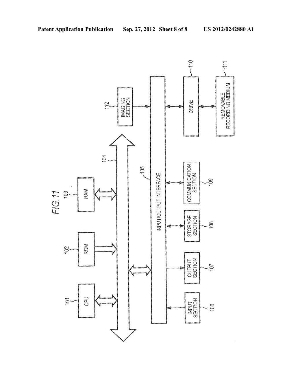 OPTICAL SIGNAL OUTPUT APPARATUS, SIGNAL PROCESSING APPARATUS, SIGNAL     PROCESSING METHOD, IMAGING APPARATUS, AND PROJECTOR - diagram, schematic, and image 09