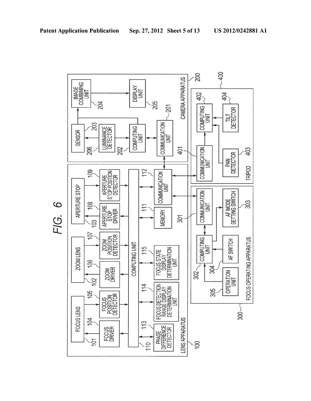 LENS APPARATUS AND IMAGE PICKUP APPARATUS INCLUDING THE SAME - diagram, schematic, and image 06
