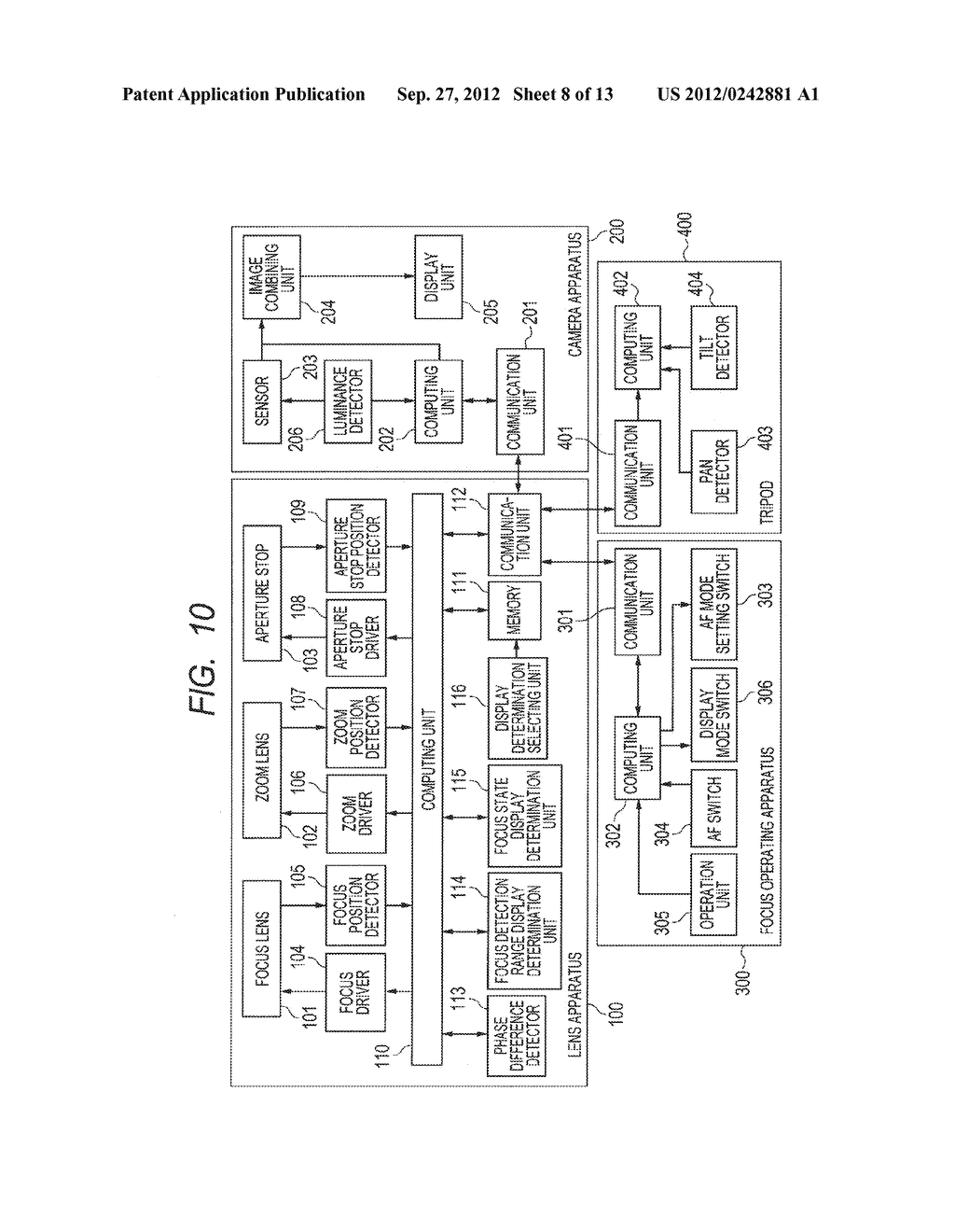LENS APPARATUS AND IMAGE PICKUP APPARATUS INCLUDING THE SAME - diagram, schematic, and image 09