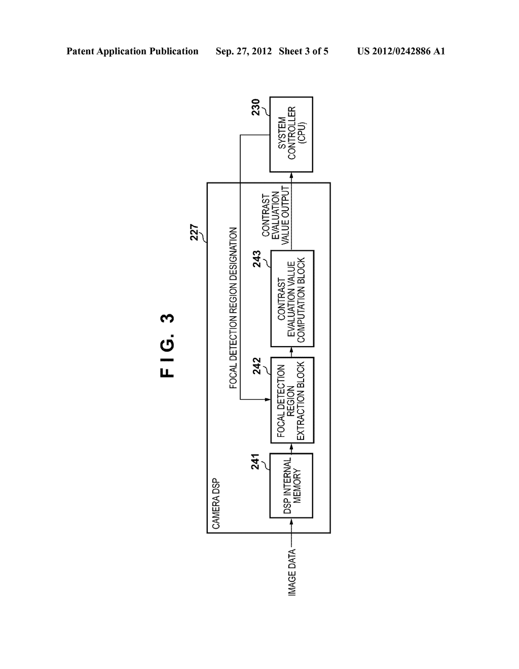 FOCUS DETECTION APPARATUS, METHOD FOR CONTROLLING THE SAME, AND IMAGE     CAPTURING APPARATUS HAVING A FOCUS DETECTION APPARATUS - diagram, schematic, and image 04
