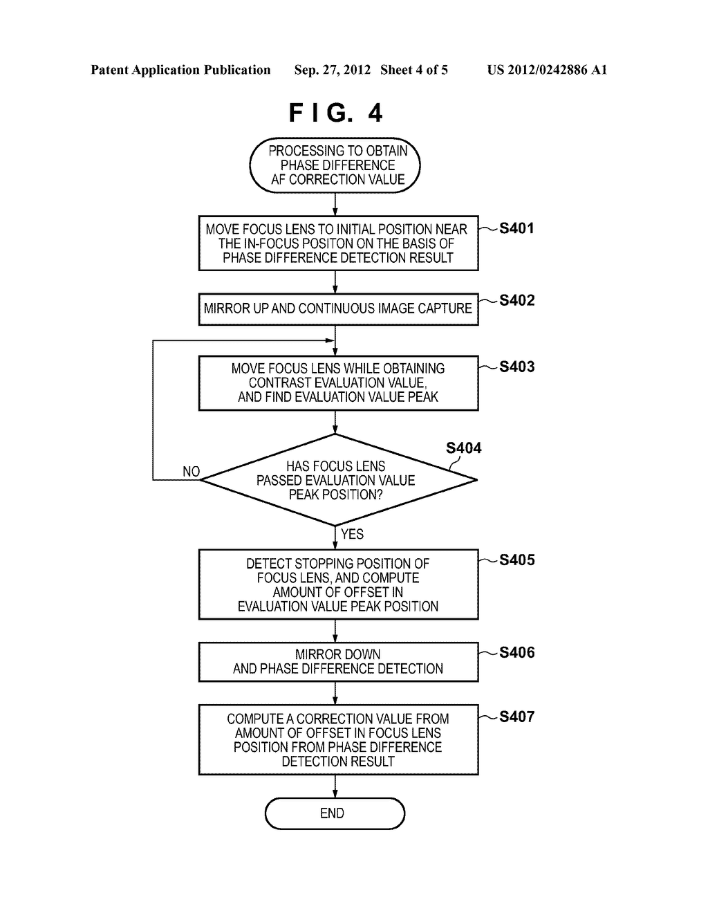 FOCUS DETECTION APPARATUS, METHOD FOR CONTROLLING THE SAME, AND IMAGE     CAPTURING APPARATUS HAVING A FOCUS DETECTION APPARATUS - diagram, schematic, and image 05