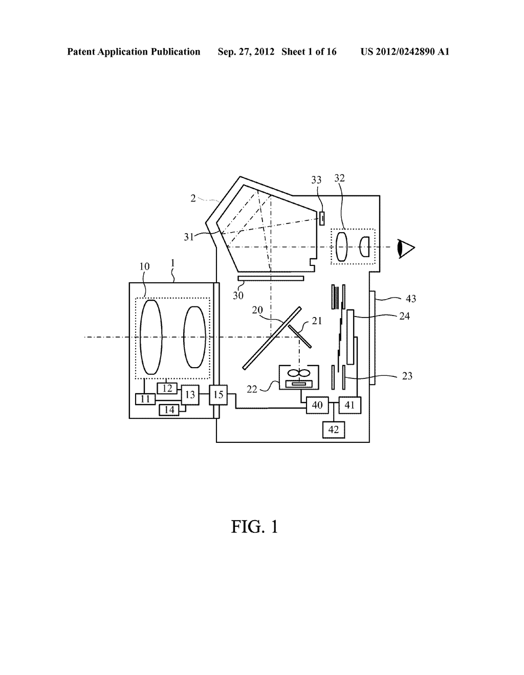 DISPLAY APPARATUS OF IMAGE PICKUP APPARATUS WITH FUNCTION TO CORRECT PHASE     DIFFERENCE AF - diagram, schematic, and image 02