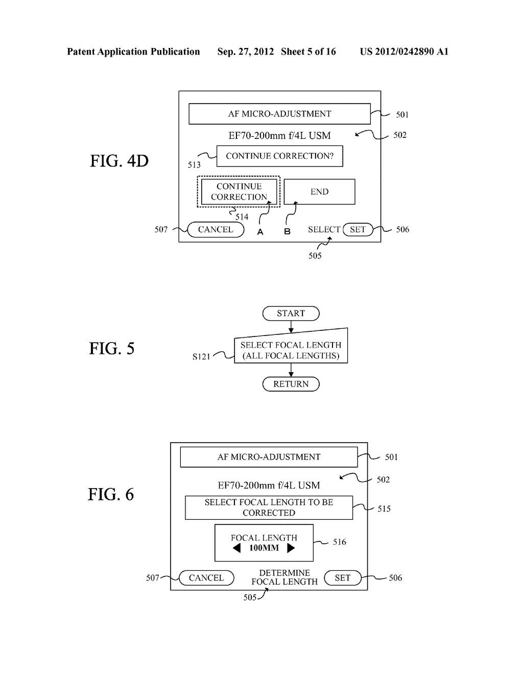 DISPLAY APPARATUS OF IMAGE PICKUP APPARATUS WITH FUNCTION TO CORRECT PHASE     DIFFERENCE AF - diagram, schematic, and image 06