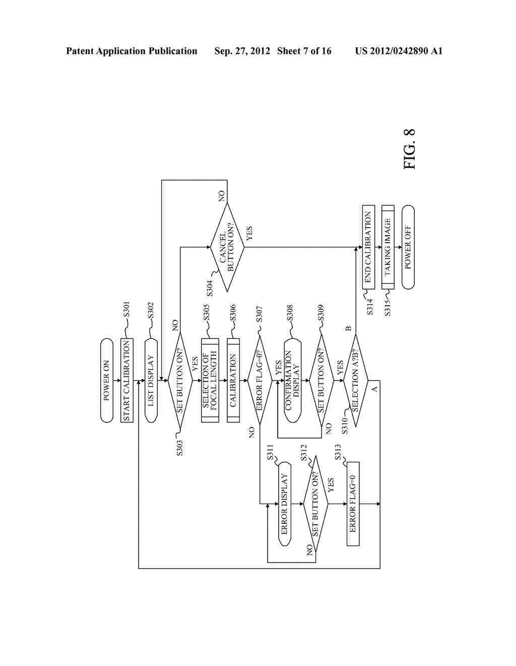 DISPLAY APPARATUS OF IMAGE PICKUP APPARATUS WITH FUNCTION TO CORRECT PHASE     DIFFERENCE AF - diagram, schematic, and image 08
