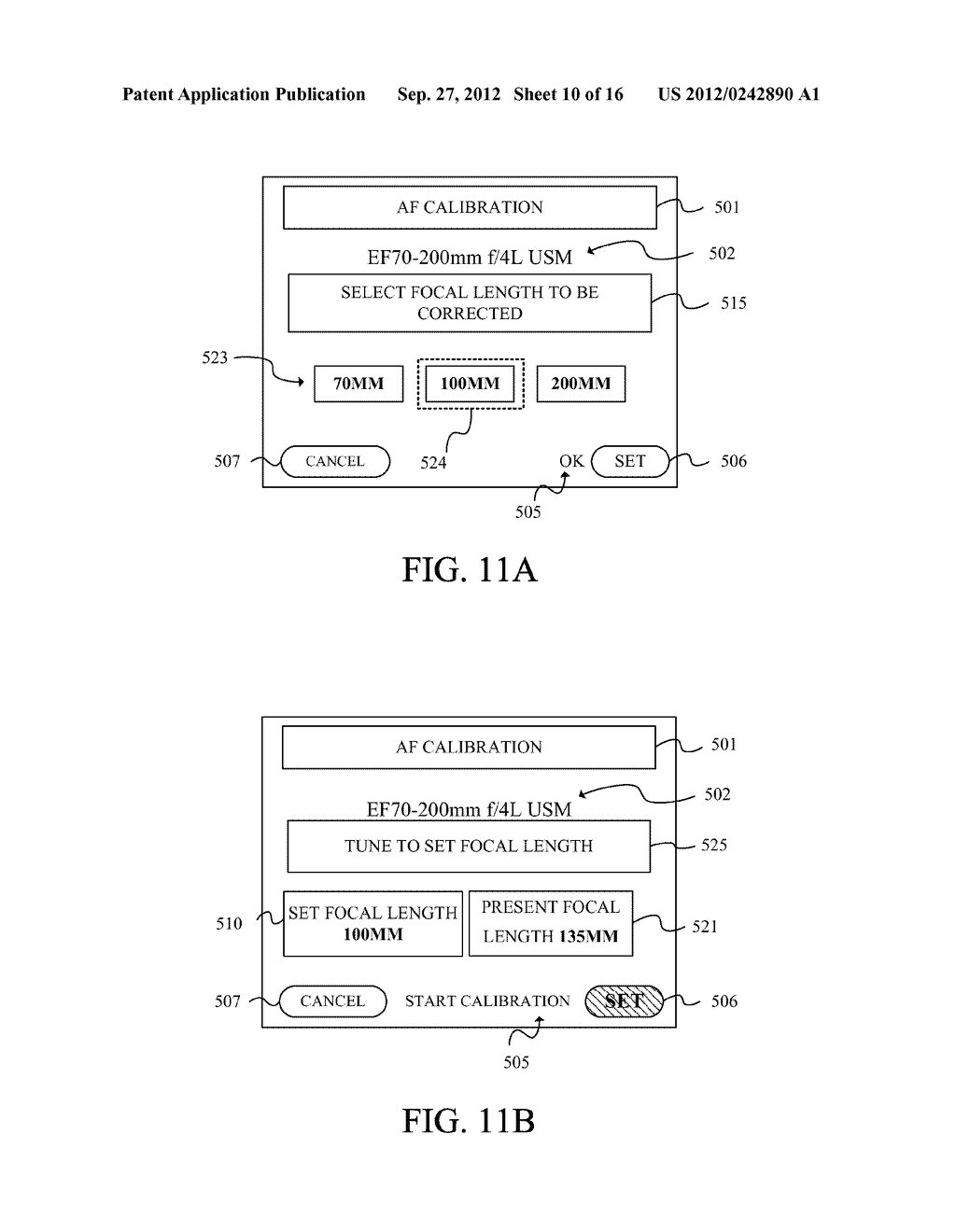 DISPLAY APPARATUS OF IMAGE PICKUP APPARATUS WITH FUNCTION TO CORRECT PHASE     DIFFERENCE AF - diagram, schematic, and image 11