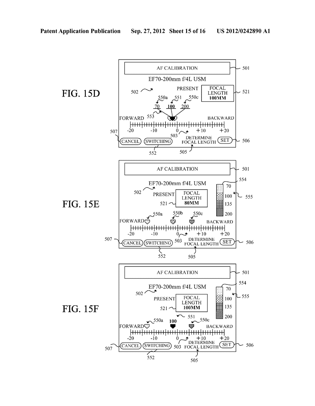 DISPLAY APPARATUS OF IMAGE PICKUP APPARATUS WITH FUNCTION TO CORRECT PHASE     DIFFERENCE AF - diagram, schematic, and image 16