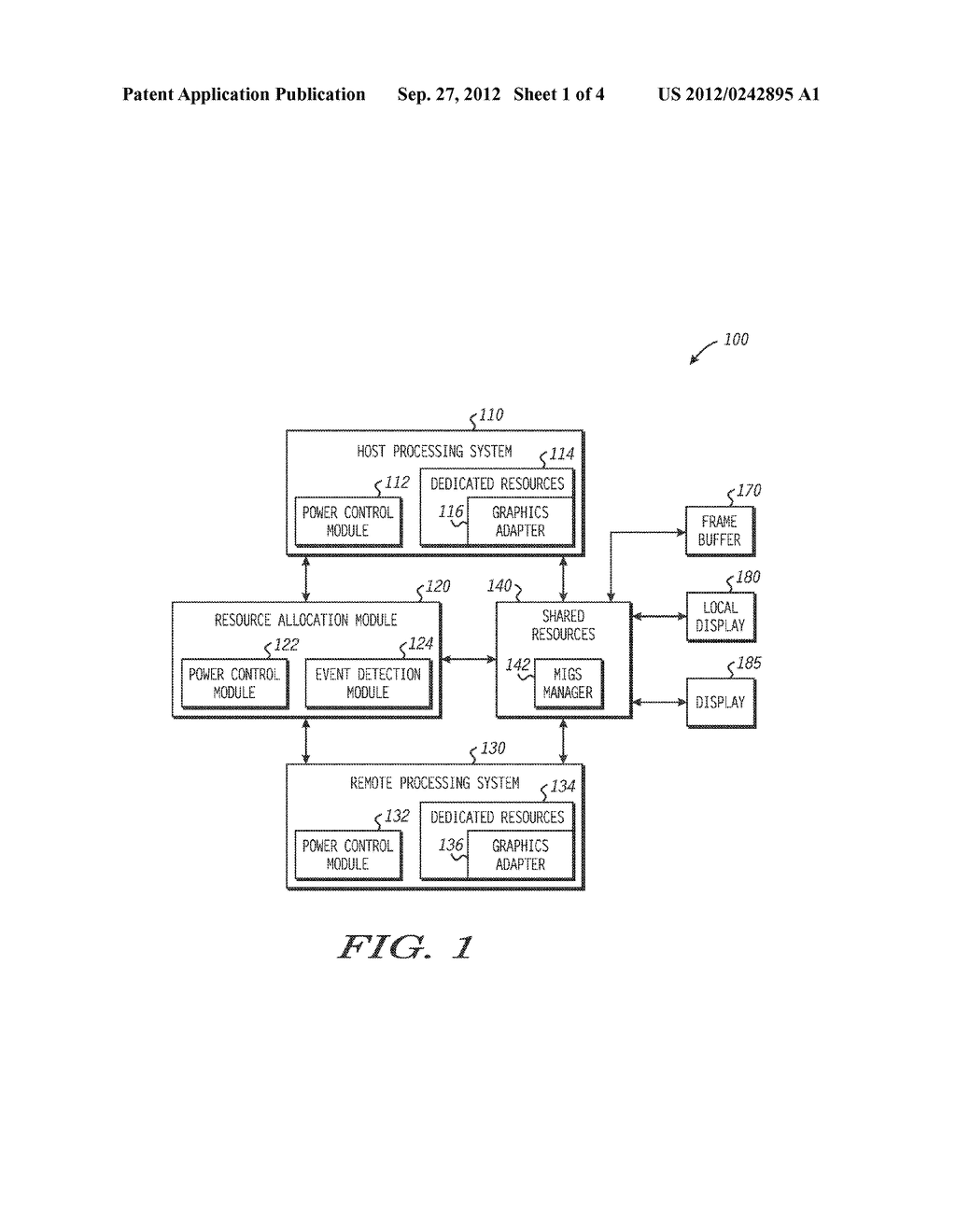 System and Method for Managing Multiple Independent Graphic Sources in an     Information Handling System - diagram, schematic, and image 02